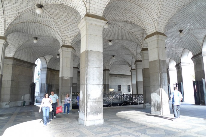 Guastavino tiles at the Municipal Building NYC