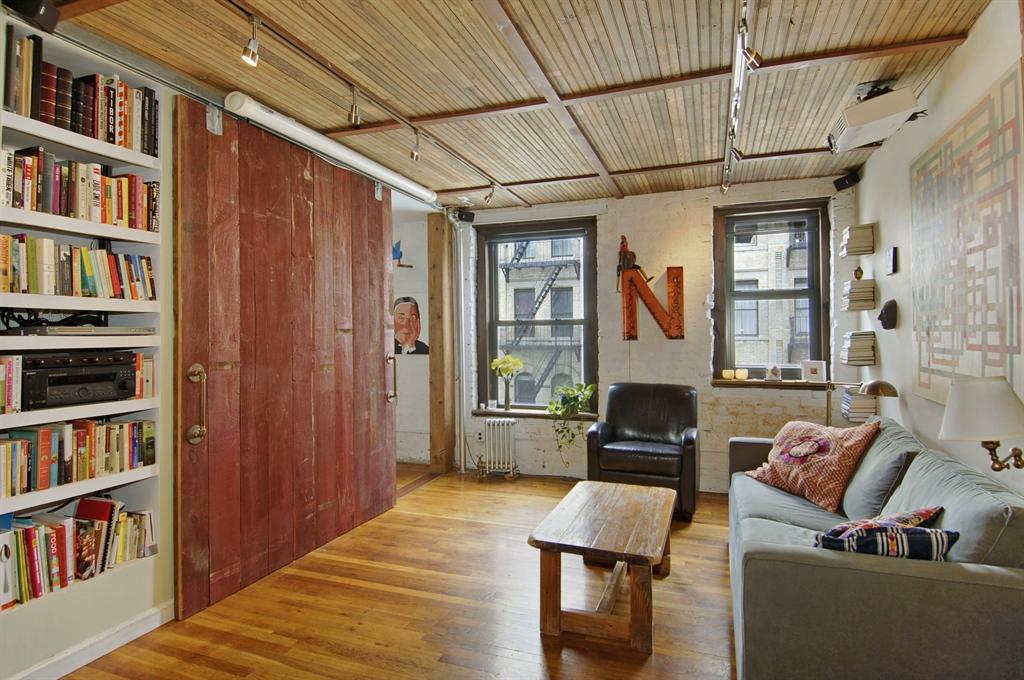 Lower East Side Rental Oozes Rustic Charm