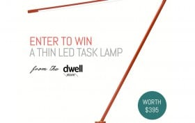 Win a Juniper THIN LED task lamp from Dwell