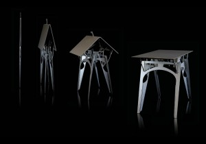 Cricket Folding Table from Folditure