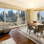 1 Central Park West, 23D dining room