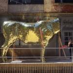 Sebastian Errazuriz Golden Cow Piñata