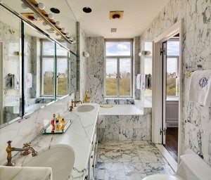 211 Central Park West, 11E Bathroom