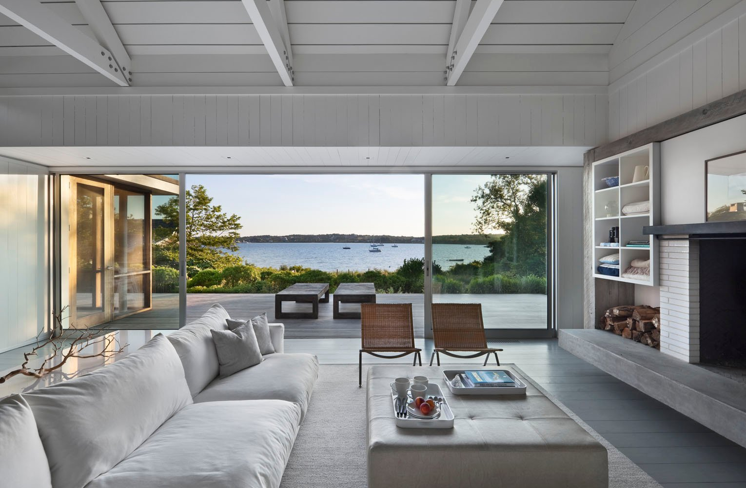 Montauk Lake House Designer By Robert Young Architecture U0026 Interiors