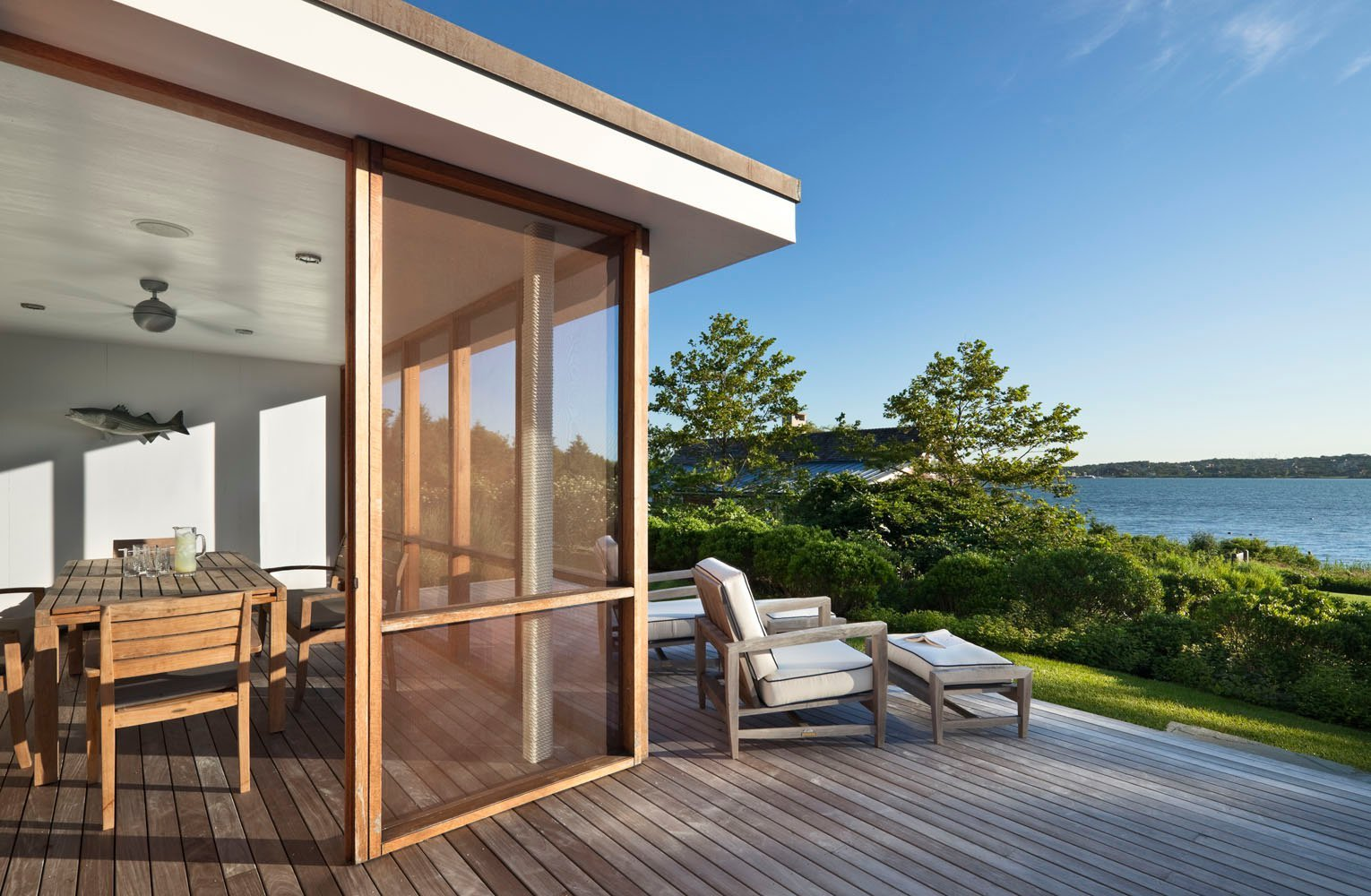 Montauk Lake House designer by Robert Young Architecture & Interiors