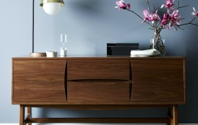 Desi Media Console designed by Katy Skelton