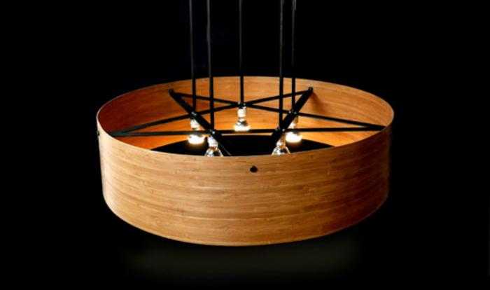 Pickett Furnitures Brann Hanging Lamp Casts A Cool Shadow 6sqft