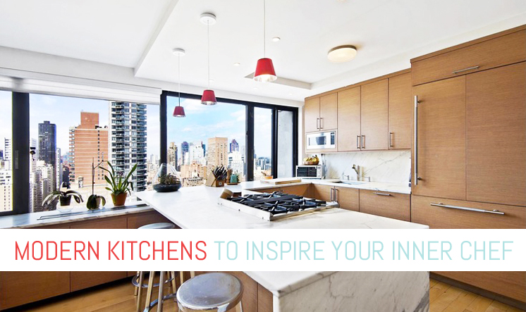Five Modern Kitchens That Will Inspire Your Inner Chef | 6sqft