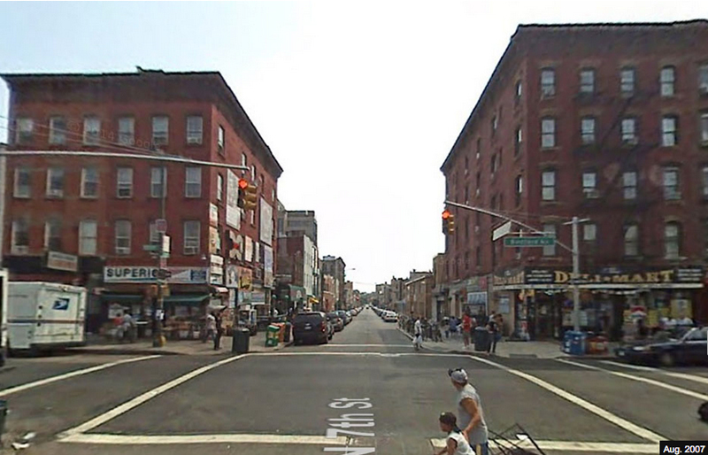Bedford Ave and North 7th St Before