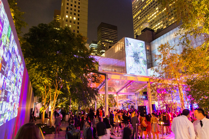 The 2014 Party In the Garden The Museum of Modern Art, 11 West 53rd Street, May 13 at 7 pm. The annual party and benefit transforms the Museum of Modern Art's sculpture garden into party central- opt for the decadent dinner, or just the after party. This year honors Daniel Craig, Steve McQueen and Maja Oeri, expect passed hors d'oeuvres, open bar and music by Lykke Li.