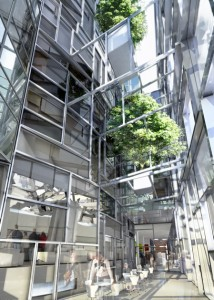 100 Eleventh Avenue designed by Jean Nouvel