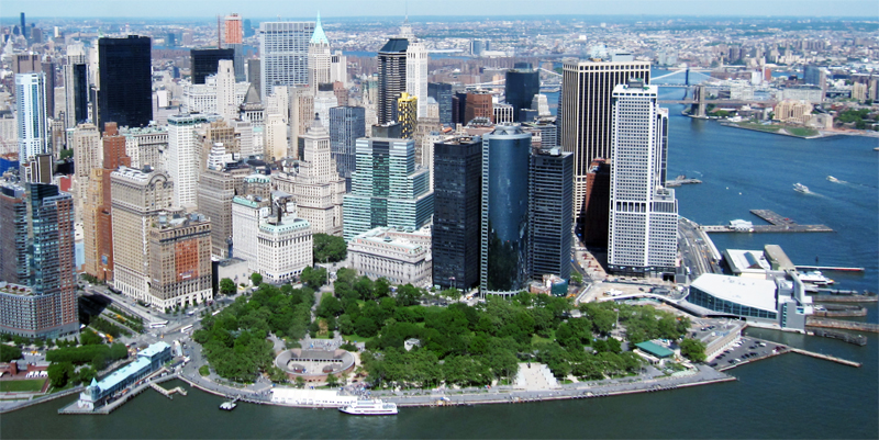 image of the financial district