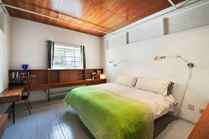 Carroll Dunham apt bedroom