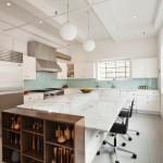 Carroll Dunham apt kitchen
