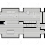 Layout of Tsai residence designed by HHF Architects and Ai Weiwei