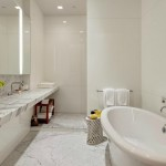 Kelly Ripa Soho Penthouse bathroom