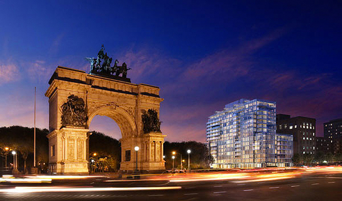 grand army plaza prospect park brooklyn