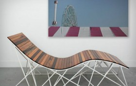 Cyclone Lounger by Uhuru Design