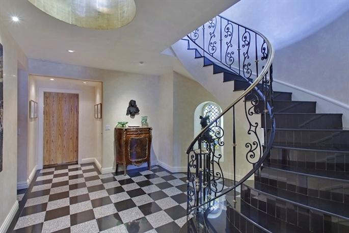 Valerie Mnuchin New Penthouse foyer
