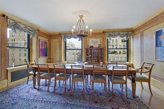 Valerie Mnuchin New Penthouse  dining room