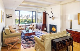 Hank Azaria's new living room