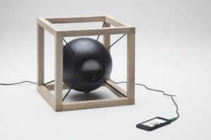 Vitruvio speaker designed by Giorgio Bonaguro with Juan Soriano Blanco