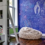 Kids room inside Reeve Place house designed by Barker Freeman