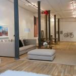 137 duane street loft living space
