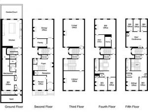 54 East 64th St. floor plan