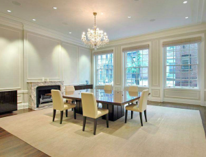dining room, townhouse,