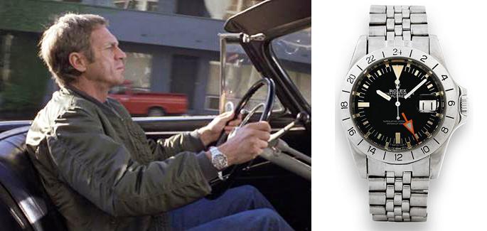 Rolex Explorer II Reference 1655 Steve McQueen, steve mcqueen watch