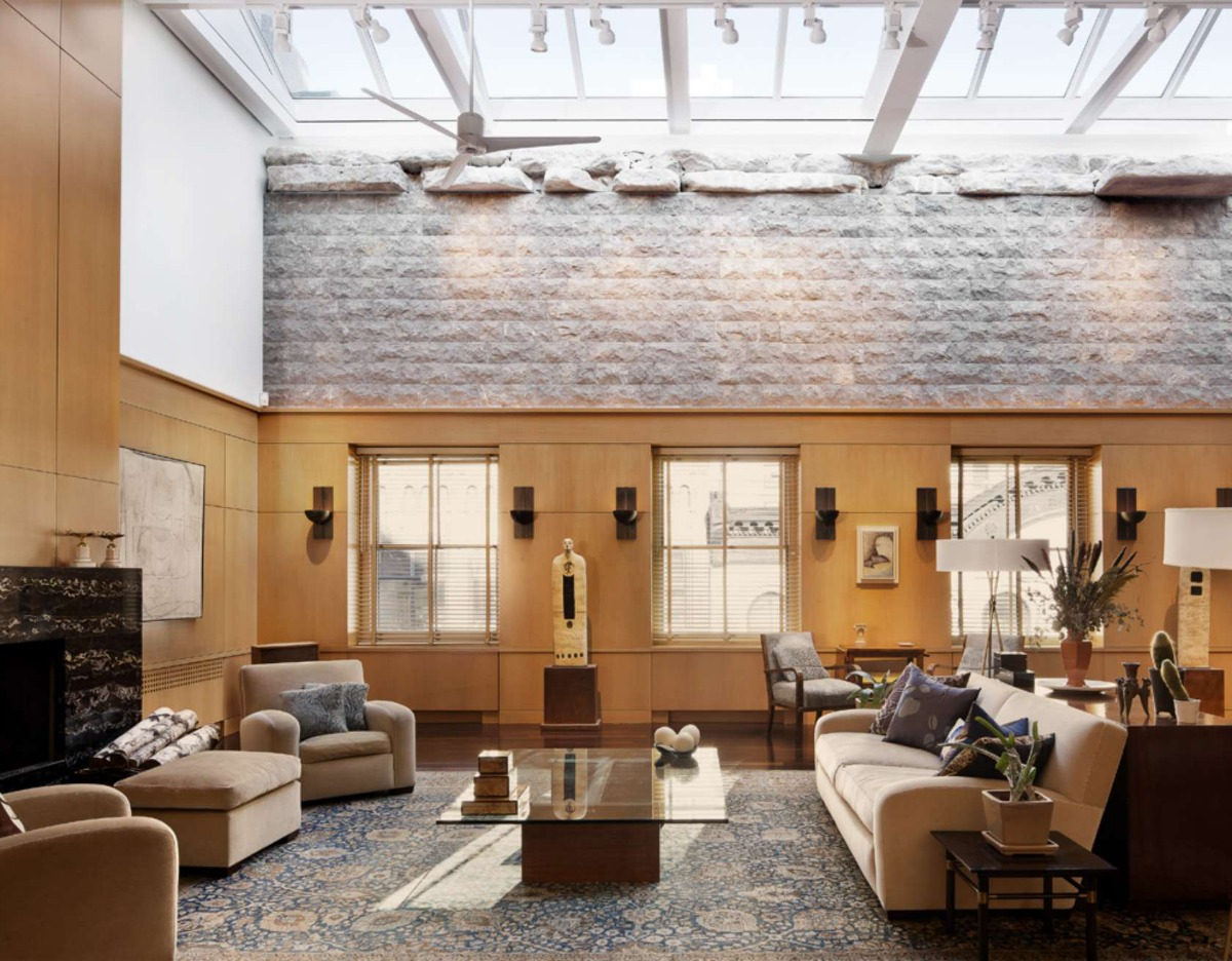 Paneled Tribeca Penthouse Is A Modernists Dream 6sqft
