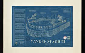Yankees Ballpark Blueprint