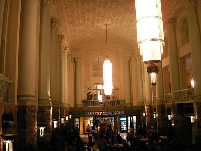 LIU Cafeteria, Brooklyn Paramount Theatre