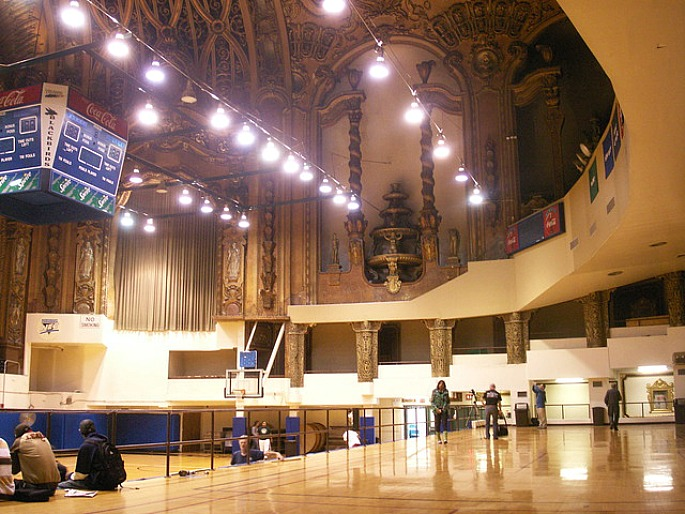 LIU Gym, Paramount Theatre