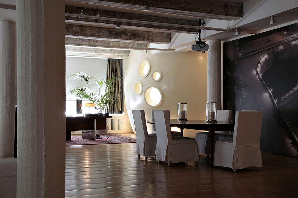 Bubble Loft Dining Room