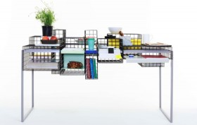 3D modular desk, 3D from 3D, Yin Chang, grid system