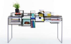 3D modular desk, 3D from 3D, Yin Chang, grid system