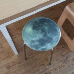Full Moon Stool designed by Space 1A
