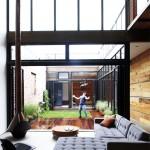 Atrium House Brooklyn Mesh Architects