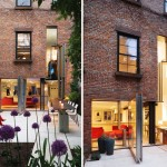 cool building facades, brooklyn townhouse, brooklyn heights homes, brooklyn heights rea estate, dean / wolf architects, transforming facade, transforming buildings