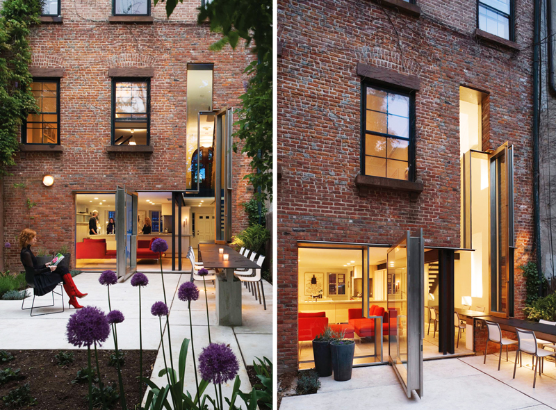 Boerum Hill Home With Tetris Like Facade And Unusual Dining