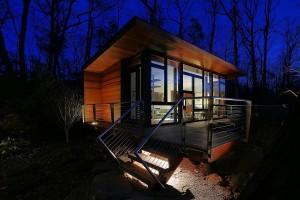 Chappaqua, NY Studio Retreat designed by workshop/apd