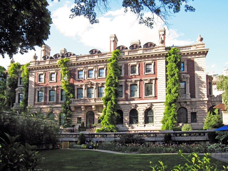 The Carnegie Mansion, now the Cooper-Hewitt National Design Museum.