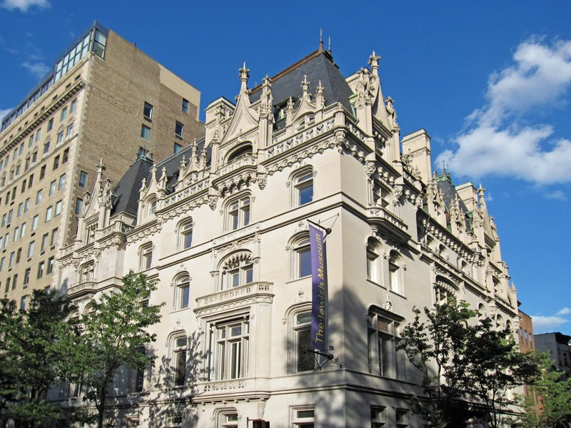 A view of the Felix Warburg Mansion, now the Jewish Museum of New York.