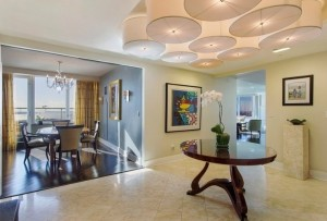 Ritz Carlton interior, three condo combo, record setting price, $118.5 million, Ryan Serhant, Million Dollar Listing