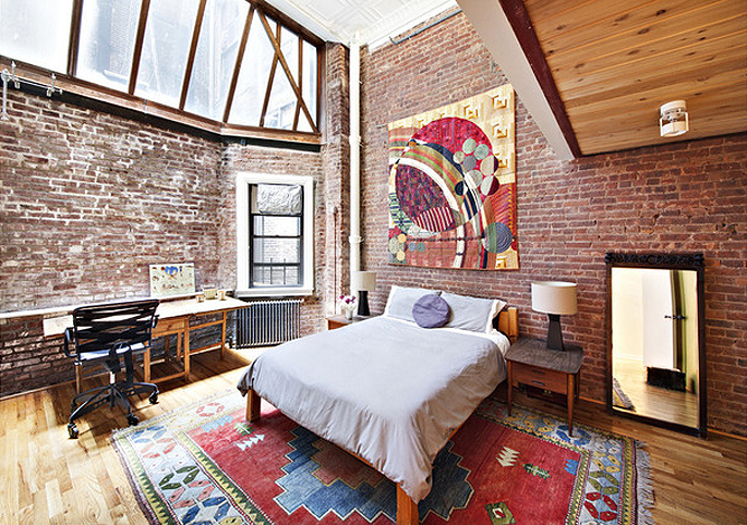 Exceptional In This Industrial Tribeca Loft Complete With Artistu0027s Studio