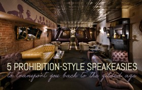 Raines Law Room Interior, nyc speakeasy, 5 prohibition style speakeasies