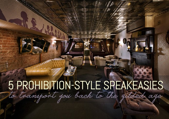 Speakeasy style home decor