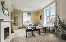 285 Central Park West, St. Urban, living room, country chic, country and city, new york interiors, million dollar listing